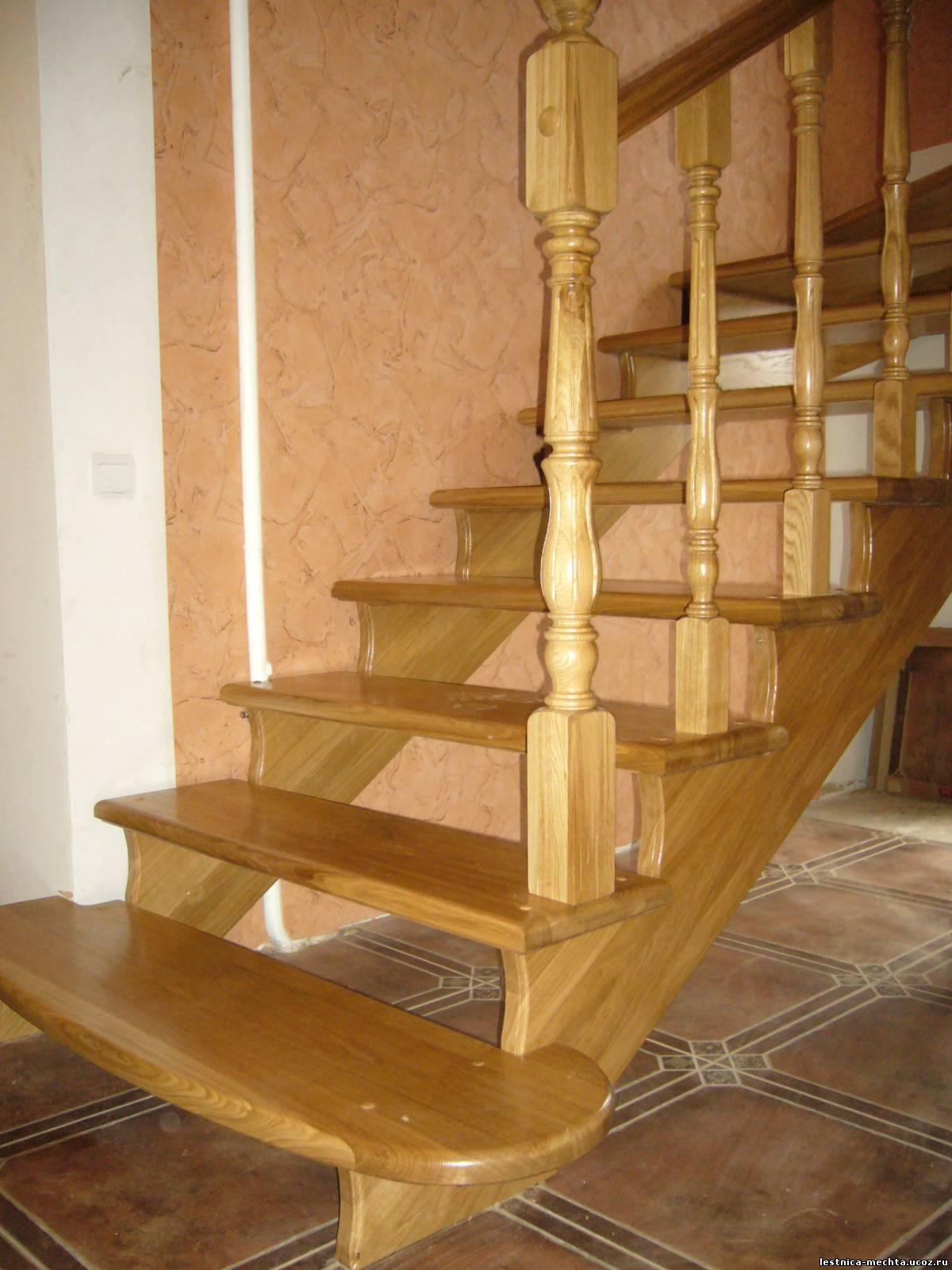 Лестницы из дерева изготовление своими руками