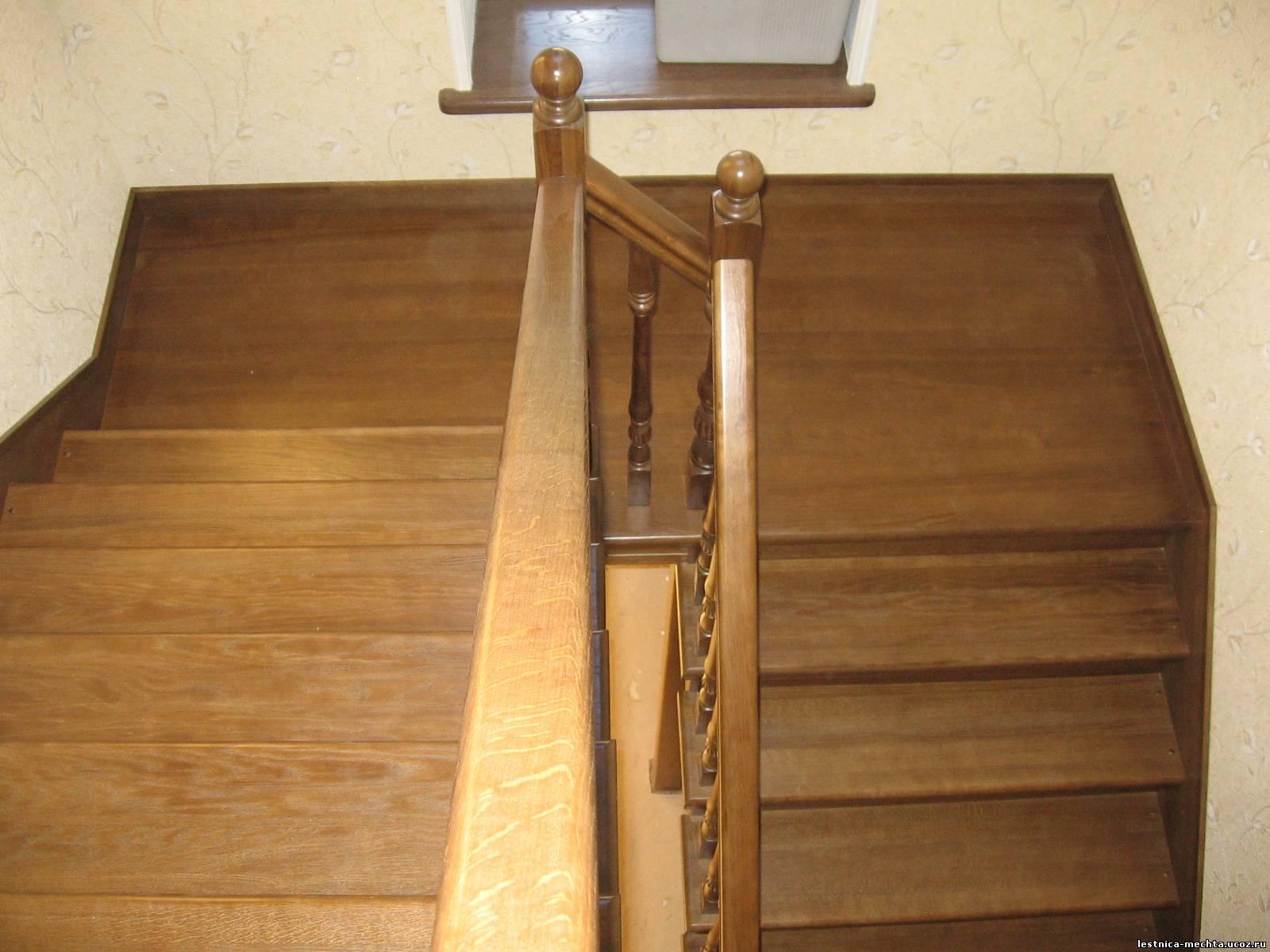 Площадки для деревянных лестниц своими руками 69
