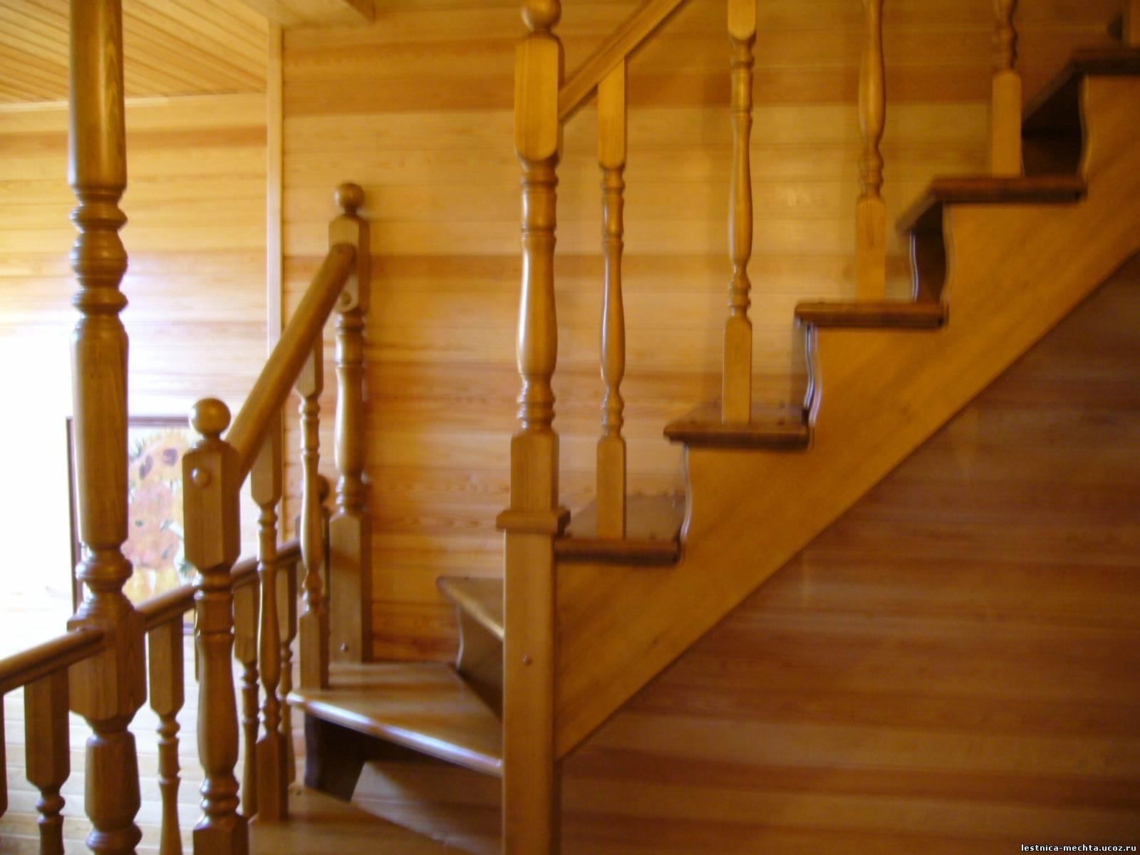 Изготовление лестниц своими руками фото