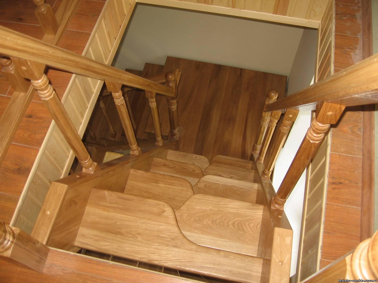 Лестницы гусиный шаг своими руками фото